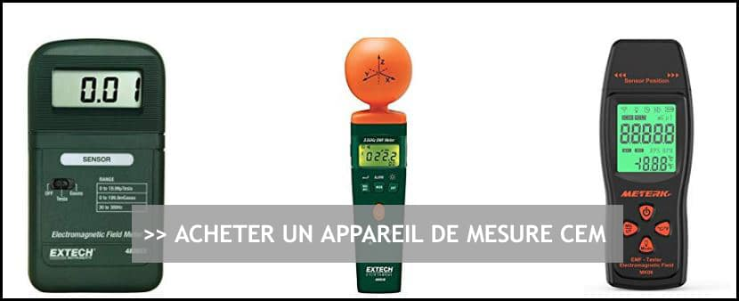 Achat Appareil Mesure CEM (champs électromagnétiques)