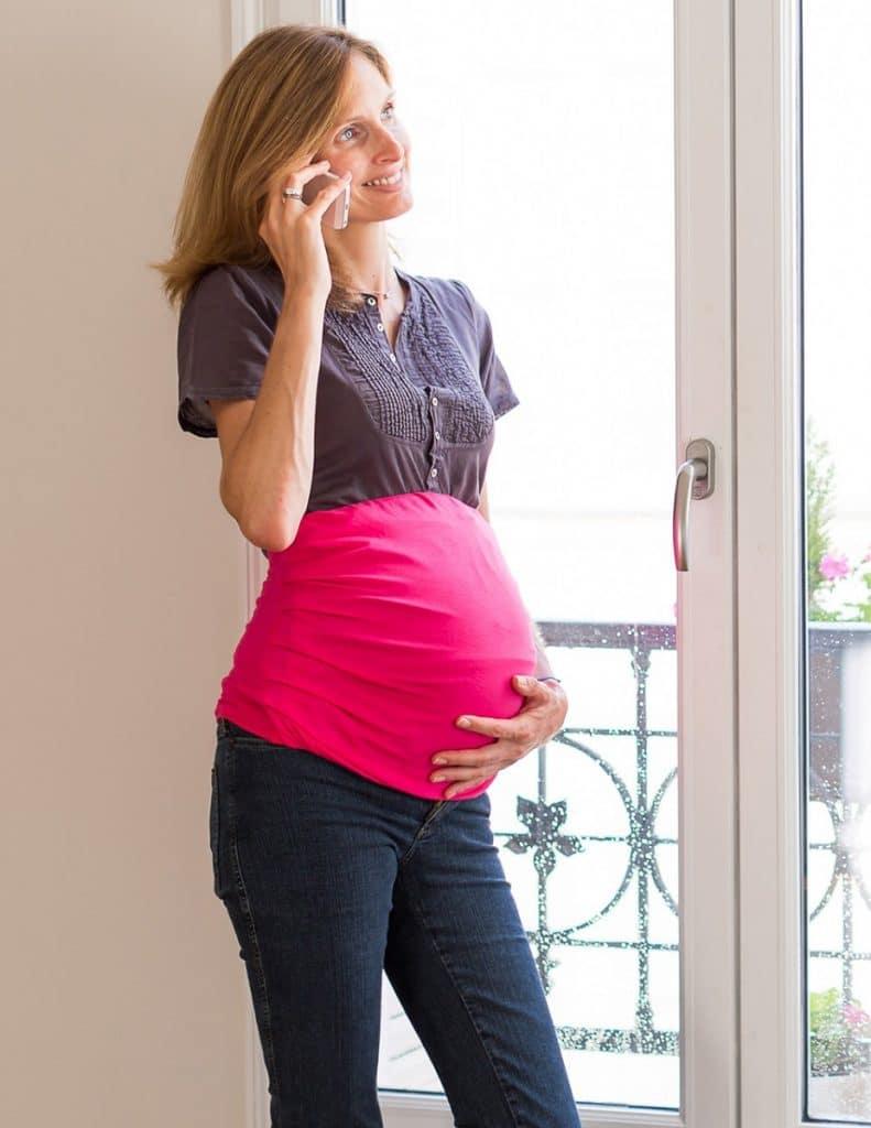 Bandeau de grossesse anti-ondes de la marque Belly Armor