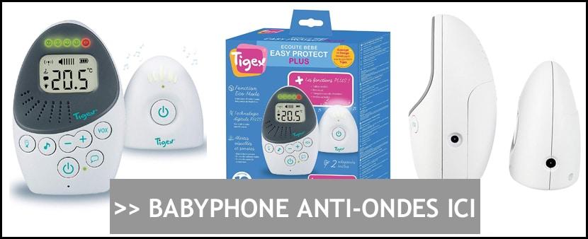 Achat BabyPhone anti-ondes