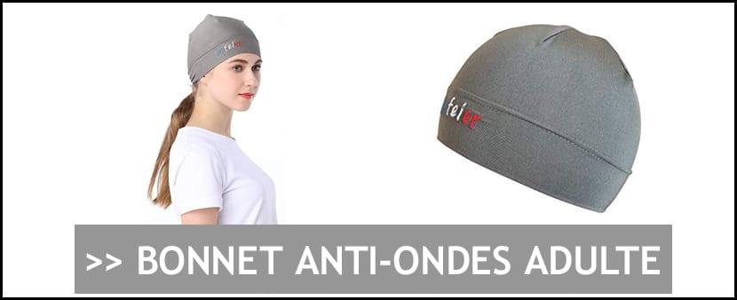 Achat bonnet protection anti-ondes pour adulte
