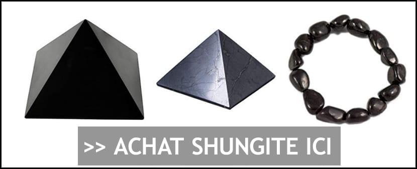 Achat pierre de shungite - Protection anti-ondes