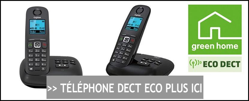 Achat Telephone DECT Eco Plus