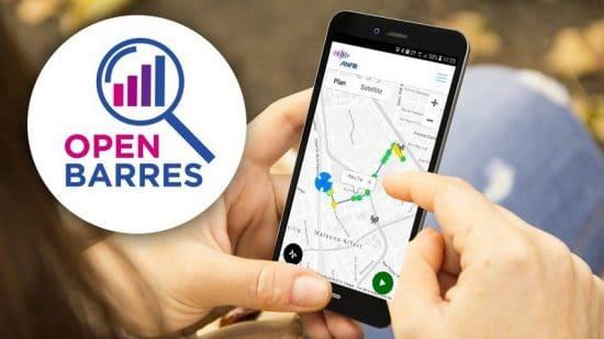 L'application Open Barres de l'ANFR pour connaître le taux de rayonnement de votre téléphone en temps réel